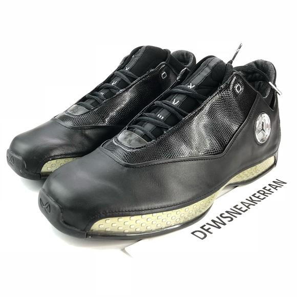 090be35a8d5 Air Jordan 18 Low OG 2003 Black Men Sz 12